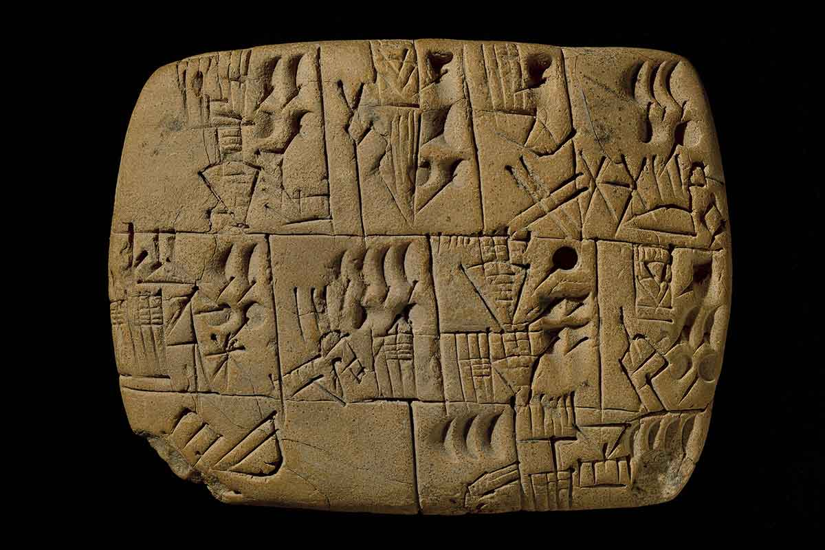 Beer o'clock, 3000 BC. Credit: The Trustees of the British Museum
