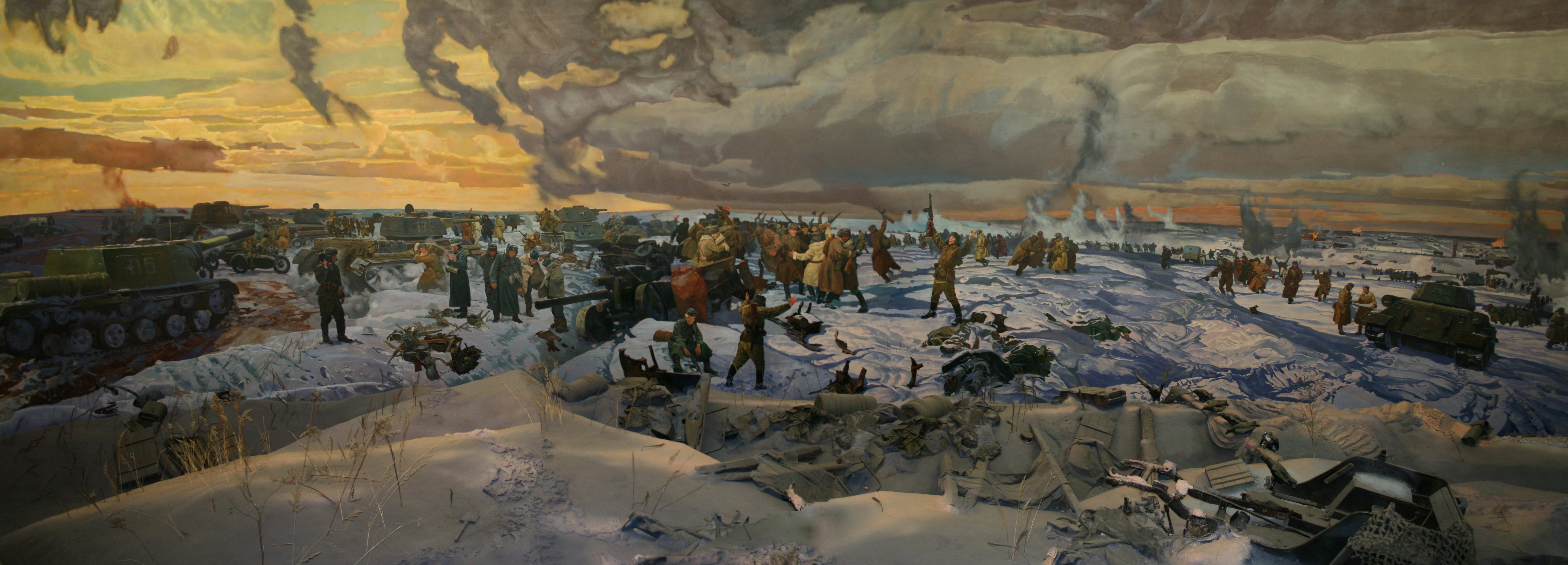 Credit: Volgograd State Panoramic Museum Stalingrad Battle