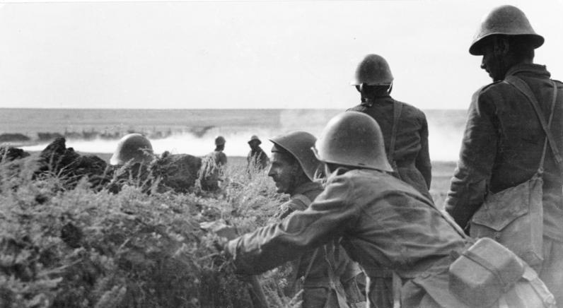 Romanian soldiers near Stalingrad