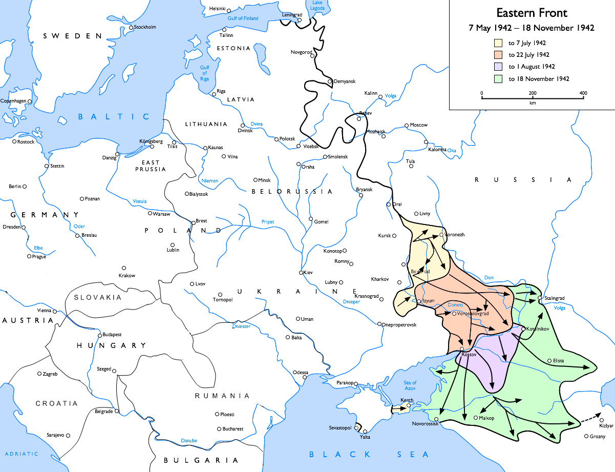 Eastern Front (WWII), 1942-05-07 to 1942-11-18